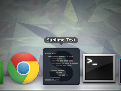 Sublime Text Icon  [download] sublime text icon replacement flat spacegray download osx windows linux sublime sublime icon sublime text icon