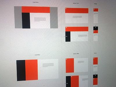 Sunday exploration on blog design and structure web webdesign structure blog design exploration