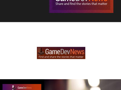 GameDevNews visuals platform news development game indie