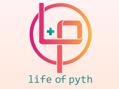 Logo Design (Life + Programming) font consolas clean illustration branding design logo