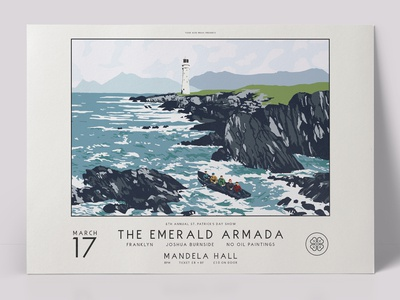 The Emerald Armada St. Patrick's Day 2017 Gig Poster