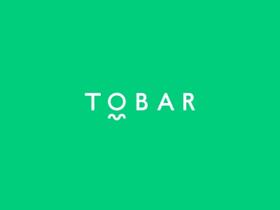 Logo Design for TOBAR contemporary word mark logo type typography identity agency branding design church christian logo design