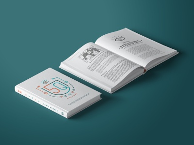 5Q Book Cover & Interior Design layout design editorial angel and anchor 5q alan hirsch book cover typesetting mock up book design