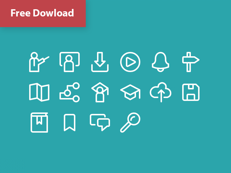 Free Animated Icon Set by Amir Abbas A  on Dribbble