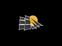Sail boat logo/sticker