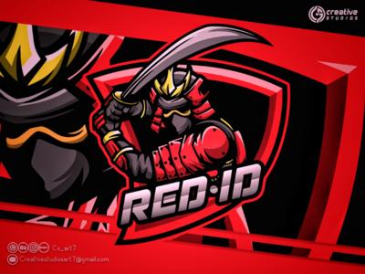 RED. ID ESPORT LOGO esport logo design animation