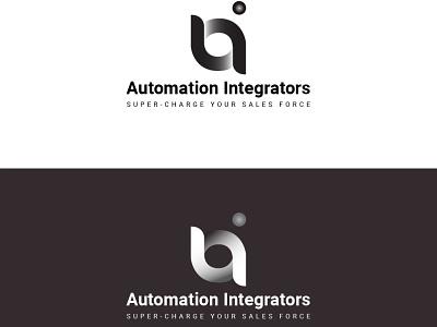 Automation interface logo typography typogaphy icons white logo black logo black and white blackandwhite logos logotype logo design logodesign logo icon vector flat minimal illustration identity design branding