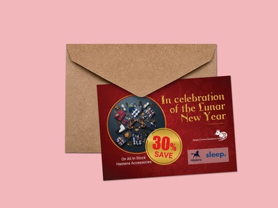 Discount Post Card For Lunar New Year