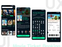 UI Design: Movie Ticket Booking App