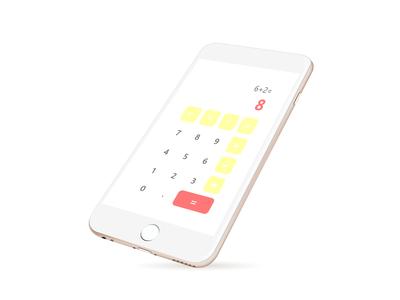 DailyUI #004-Calculator