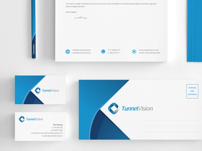 Tunnel Vision Stationery