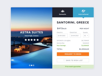 Travel App ui user interface widget app travel clean minimal blue