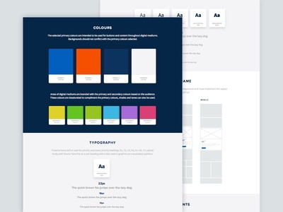 Style Guide ui user interface material design material flat guidelines grey blue sketch