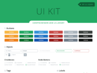 Ui kit full library