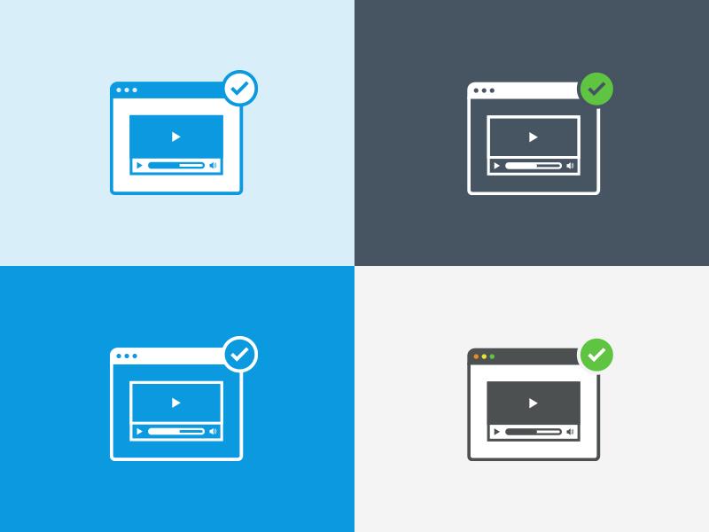 UI icon - Video page icon ui