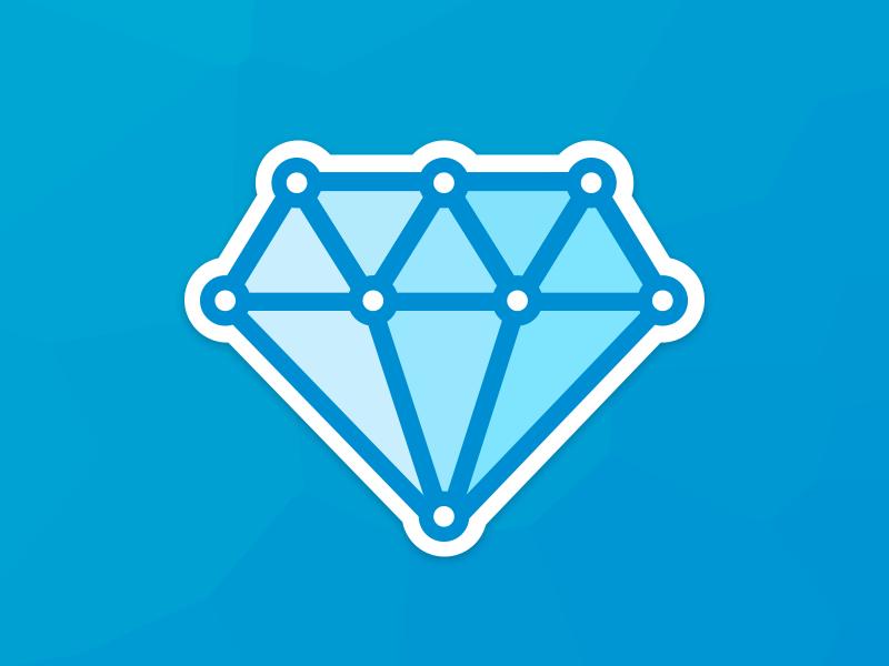 Bling gem crystal diamond
