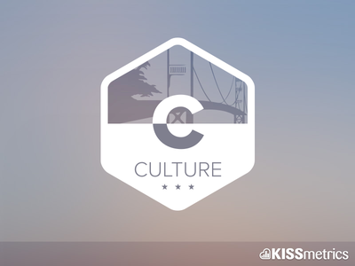 Culture Badge kissmetrics badge culture golden gate bridge san francisco