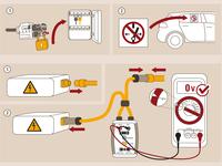 technical infografic