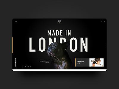 Prefurred Tags – Web website black ecommerce minimal dog branding web design ux ui web