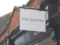 The Gentry branding & shopfront