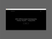 Nearly ready now — EuroTwenty16.com