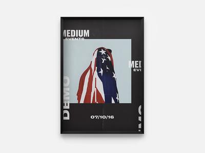 Medium Events Poster