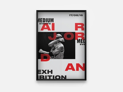 Medium Events Air Jordan Poster