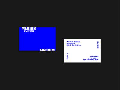Medium Events Invites