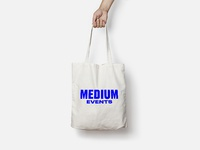 Medium Events Tote Bag
