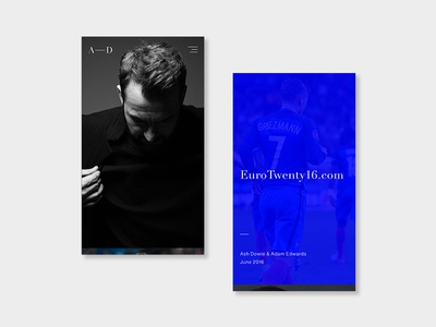 Portfolio website 2017 screens 1