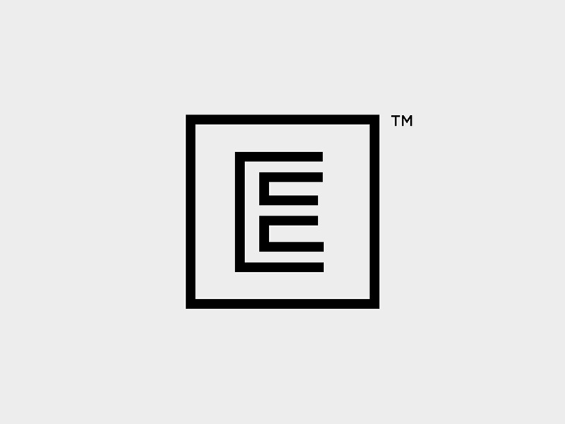 Evolve logo brand identity simple typography type mark minimalist minimal mono branding logo