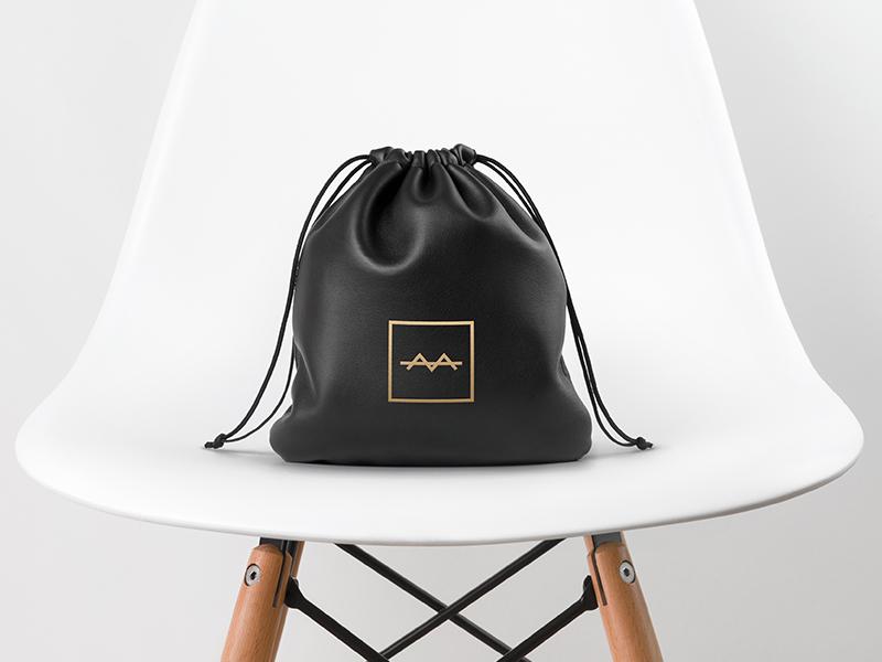 Hair and Grooming Products Brand bag product packaging minimalist minimal symbol lockup logo brand branding grooming hair
