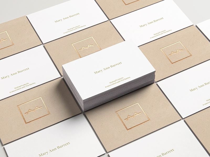 Dribbble mb business cards