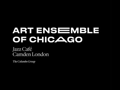 Art Ensemble of Chicago mono music jazz symbol minimal branding mark logo type typography