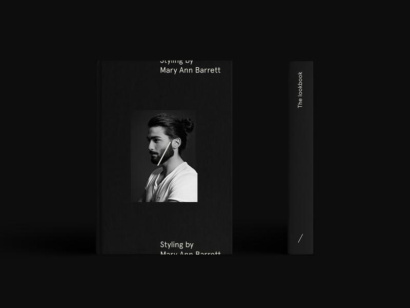 The Gentry Visual Identity — Lookbook minimalist brand barbershop barber editorial black matte black book print logo layout typography minimal branding