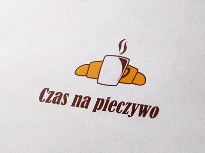 Bakery logo poland coffee bread branding inv invitation design logo bakery bake