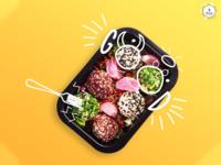 Food catering social post