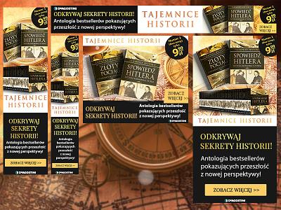Tajemnice Historii advertise digital books book commercial advert design