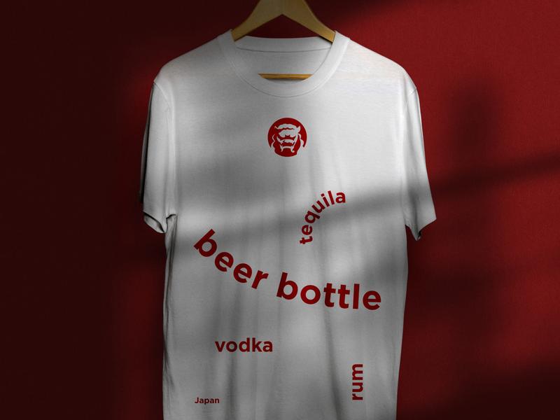 Chinoaru bar branding design brand identity brand design branding brand lettering letter tshirt