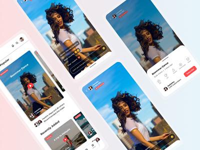 Video Recommendation on Youtube recommendation videoapp video youtube branding ios design web app ux ui design