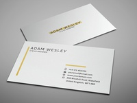 Business Card Template - Freebie branding visiting card freebie psd template business card design free business card