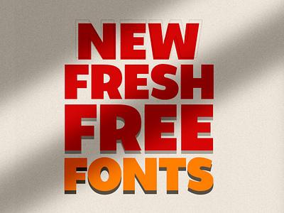 Free Fonts - 22 Latest Fonts calligraphy design illustrator fonts adobe fonts web fonts logo fonts branding lettring typography free fonts