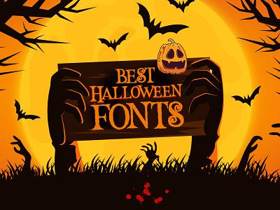 Best Halloween Fonts (40+ Fonts) fonts eve halloween horror fonts spooky fonts creepy fonts scary fonts halloween fonts