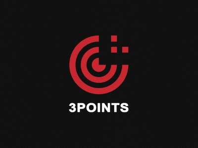 Free PSD Logo - 3Points branding psd logo free logo psd template logo freebie