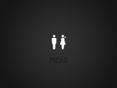 Male - Female icons male man female woman picas pictogram vector benedik gray black white ipad iphone