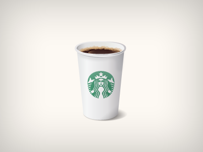 Starbucks coffee cup icon starbucks icon vector cup coffee white green benedik