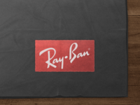 Ray·Ban cleaning cloth - take 2