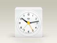 Braun Alarm Clock (white)