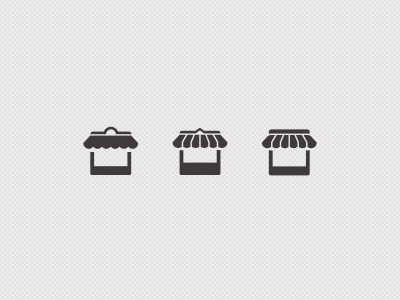 Store Icons store shop icon glyph pictogram ios iphone apple