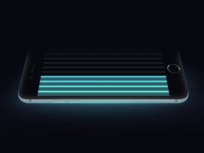 ARIIA apple iphone minimalistic simple itunes car road player music ariia